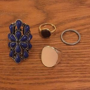 Jewelry - Lot of Rings size 8/9